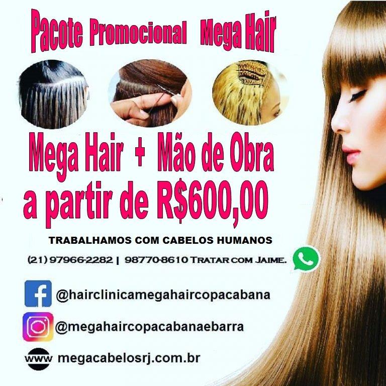 HAIR CLINICA   MEGA HAIR   VENDA DE CABELOS   ESTÉTICA 1