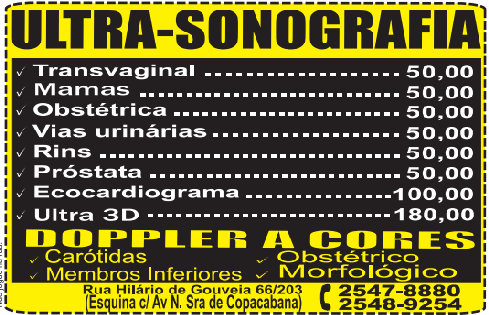 Cardiologista Popular em Copacabana - R$55,00 2