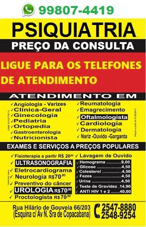 Psiquiatria Popular Copacabana 1