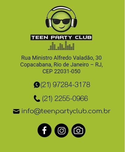 Nova Casa de Festas Teen em Copacabana 2