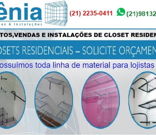 loja xenia decorações closet e aramados araras provadores copacabana rio de janeiro copacaban24horas