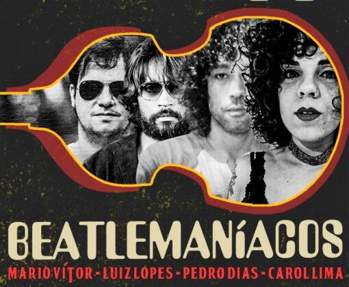"TRIBUTO AOS BEATLES"" com a banda BEATLESMANÍACOS"