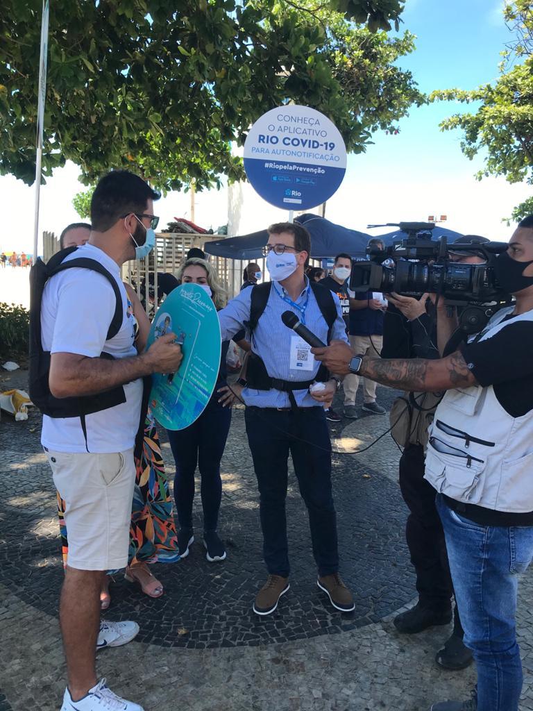 Dias 13 e 14 Orla Rio promove mais uma edição da blitz de conscientização nas praias